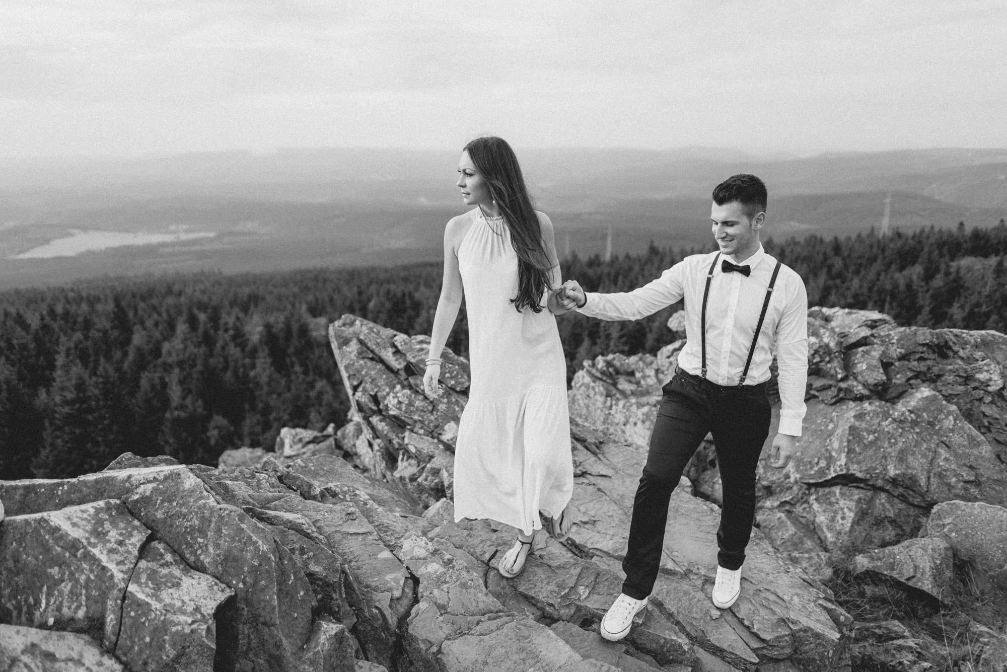 Svenja und ben hochzeitsfotos hochzeitsfotograf göttingen engagement shooting